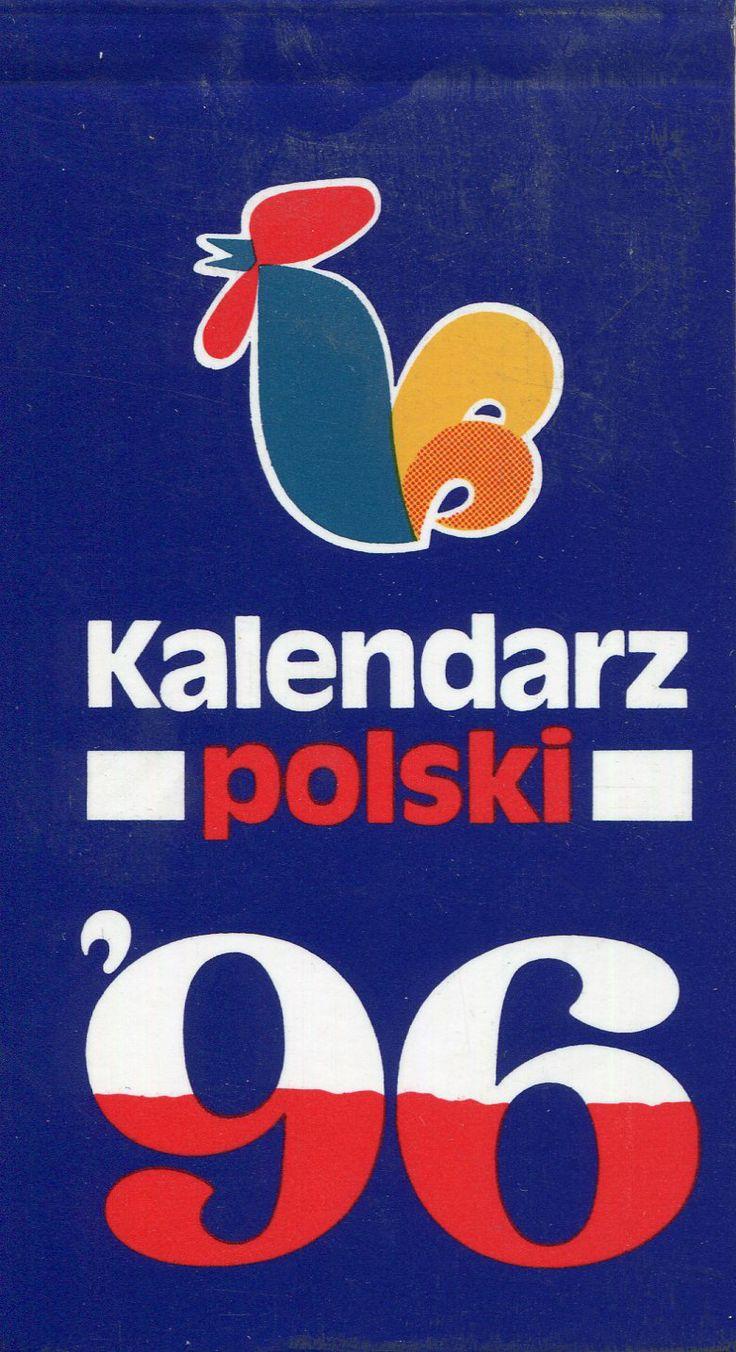 """""""Kalendarz polski '96"""" Published by Wydawnictwo Iskry 1995"""