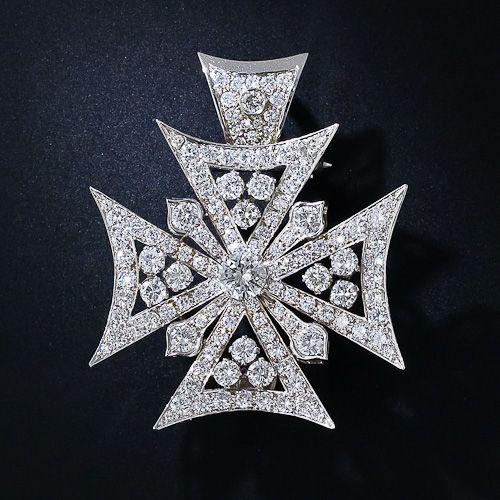Diamond Maltese Cross #TuscanyAgriturismoGiratola