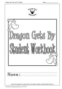 Common core aligned worksheets to supplement Dragon Gets By as published in Houghton Mifflin Reading 2.1. Common core aligned activities include: two vocabulary activities (6 words each) which focus on using a combination of dictionary skills and context clues, a story map, ten comprehension questions/activities with a focus on Bloom's Taxonomy, a sequencing activity, a summarizing activity (2 versions), a vocabulary puzzle, an informational reading extension about Healthy Eating and a…