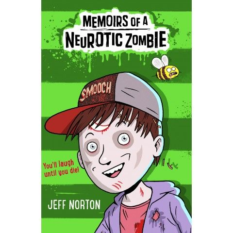 Memoirs of a Neurotic Zombie by Jeff Norton. Adam Meltzer - pre-teen, worrywart, and now zombie. Adam's family gets the fright of their lives when he turns up at their door . . . three months after his funeral. Soon Adam's back at school trying to fit in and not draw extra attention to himself, but when he sees his neighbour Ernesto transform into a chupacubra, and the beautiful Corina (Adam's number one mega-crush) turns out to be a (vegan) vampire, undead life is never going to be the same…