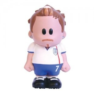 "Collectable ""Golden Balls"" Football Sports Weenicon Figurine."