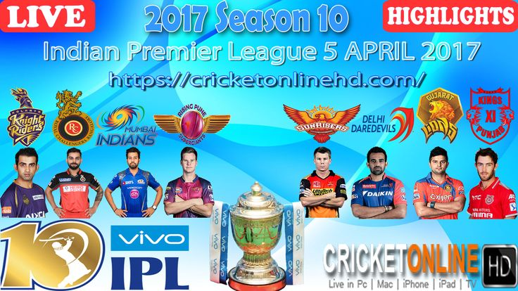 #IPL2017 Countdown Begins 1st match: Sunrisers v RCB at Hyderabad on Apr 5th Watch All Matches #LIVE In #HD at https://cricketonlinehd.com #IPL10 #T20 #cricket #HIGHLIGHTS