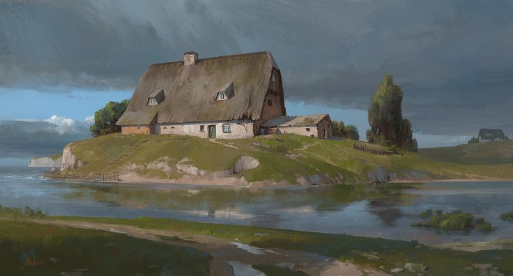 ArtStation - At the edge of the storm, Daniel Alekow