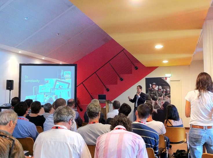 Gary Shenk, CEO Corbis speaks at Perpignan 2011 about partnering with Demotix