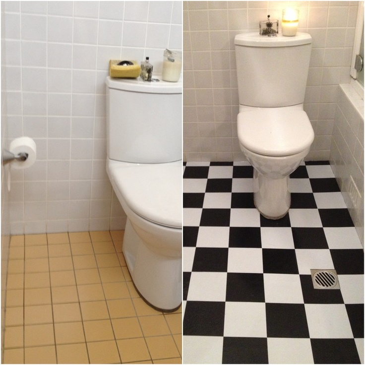 Apartment Bathroom Tiles Apartment: Before & After: Butterscotch Bathroom Tile Gets An Inexpensive Update