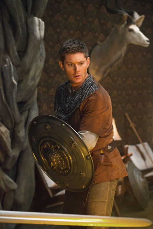 [PHOTOS] Supernatural Season 8 Spoilers — Dean and Sam LARPing Costumes - seriously??!?!?!?~!? Dean in medieval gear, I didn't know what I was missing!