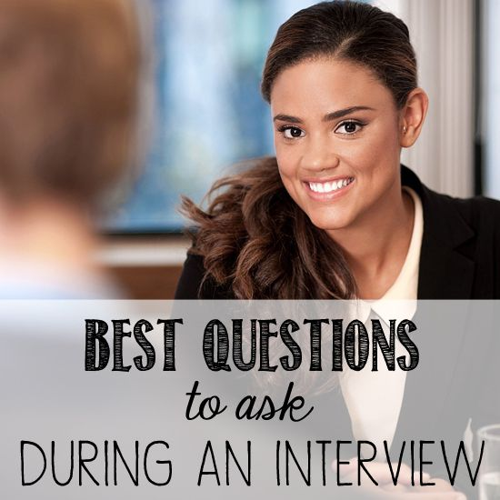 7 excellent questions to ask your interviewer