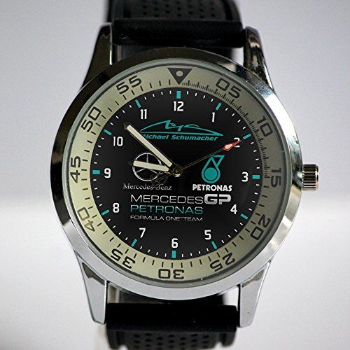 PETRONAS Motorsports F1 Custom Metal Sport Watch Rubber Band