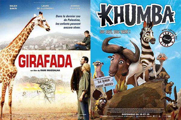 Mercredi 23 avril 2014, sorties cinéma sur Enfant.net - Nouveaux films sortis cette semaine au cinéma :  Girafada ; Khumba...