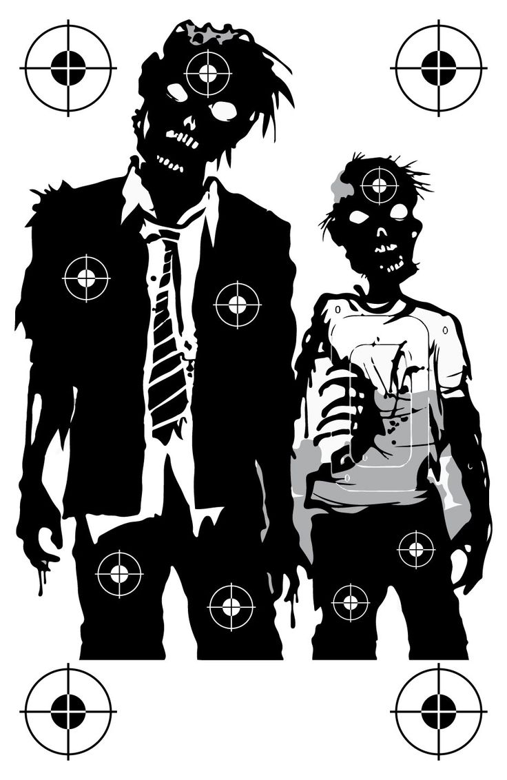 Zombie Family Shooting Target at PhotosAndFun.com                                                                                                                                                                                 More