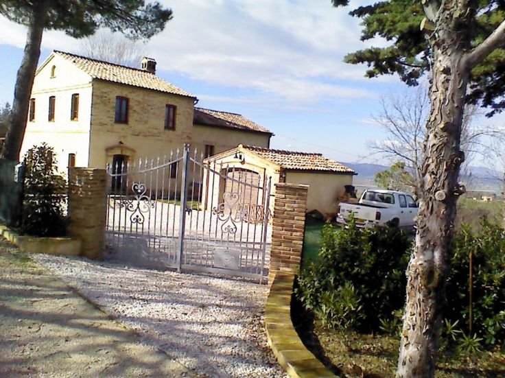 Property for sale in Le Marche Montecarotto Italy - Country House