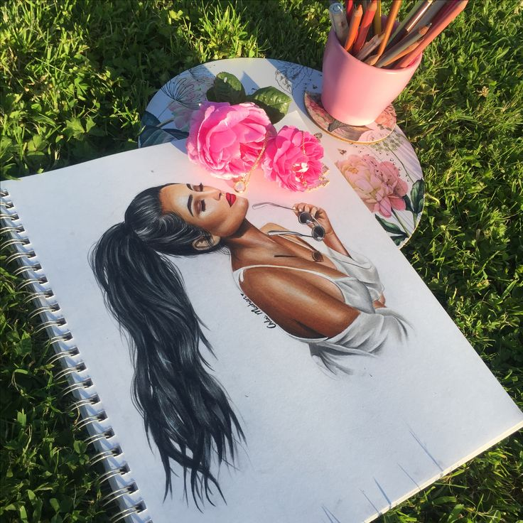 Shay Mitchell drawing