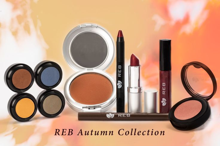 Reb Cosmetics Autumn Collection www.rebcosmetics.com.au