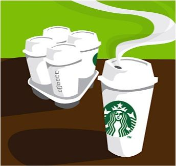 If you are the coffee gopher, great deal! Starbucks Coupon: Buy 4 Drinks, Get 1 FREE! {thru 9/30} #coffee
