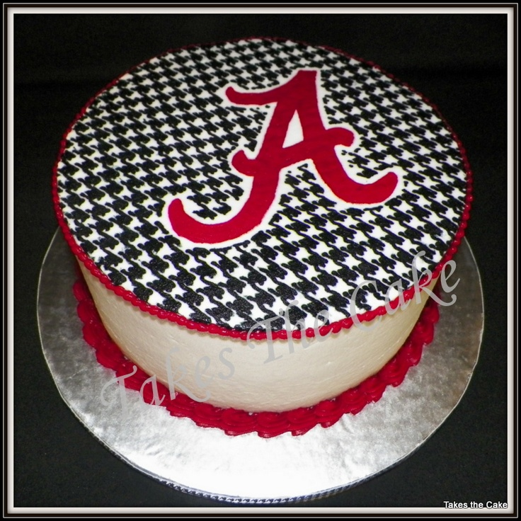 269 best Alabama Crimson Tide Cakes images on Pinterest Alabama