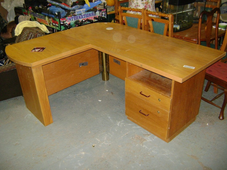 Deccie's Done Deal Second Hand Furniture & House Clearances : Eight New Items In Store Now: 3 Drawer Tall Lockers X2, L Shaped Office Desk, Wicker 3 Piece, Cast Iron Stove, Dressing Table Mirror, Chest of Drawers, Vintage Wardrobe & Corner TV Unit