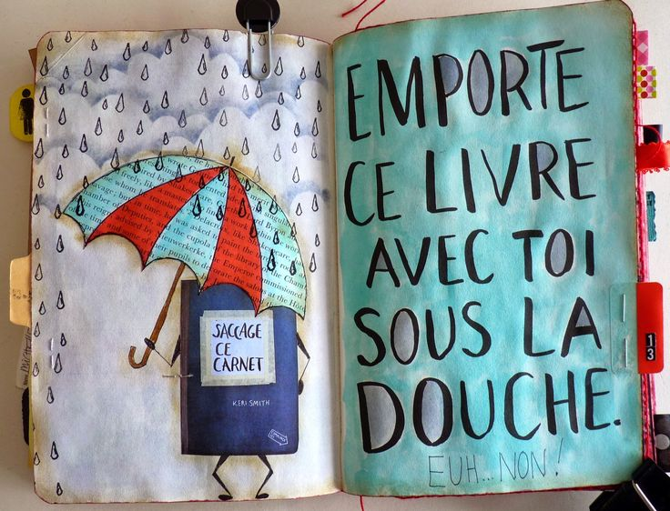 Wood And Fabric: Saccage ce carnet...gentiment!