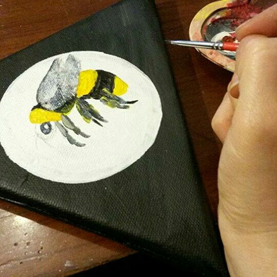Bumble bees are coming....