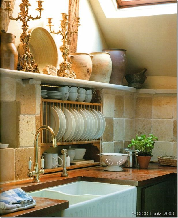 Country French kitchen...