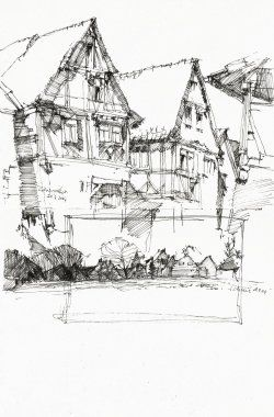 Do you want to draw or sketch houses? Get practical tips on how to draw and sketch buildings on site or in the studio. Explanations how to draw...