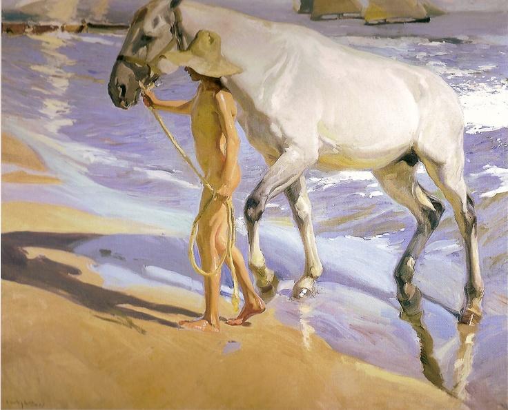 Sorolla - Impresionante ♣♣♣ Stunning. - ✯ http://www.pinterest.com/PinFantasy/arte-~-pintura-joaqu%C3%ADn-sorolla/