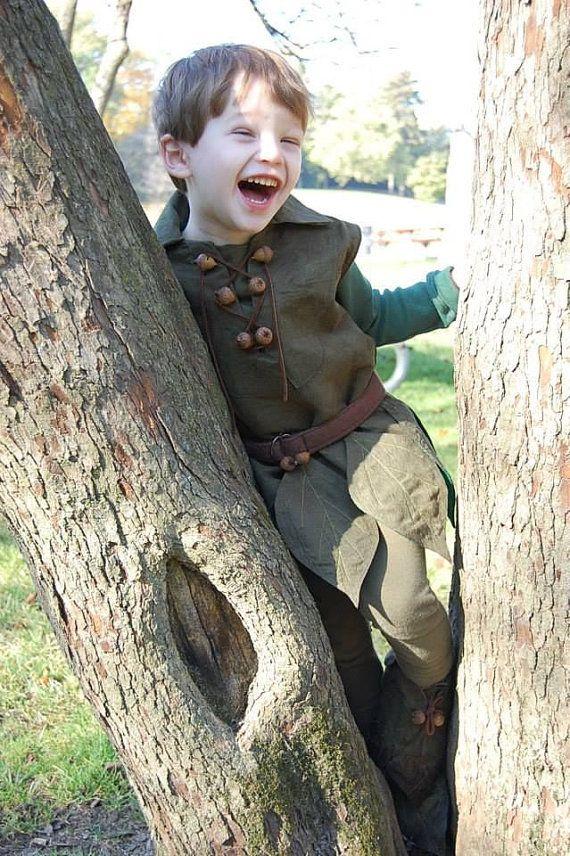 Costume de Peter Pan pour toutpetits par SashimiSamurai sur Etsy, $150.00