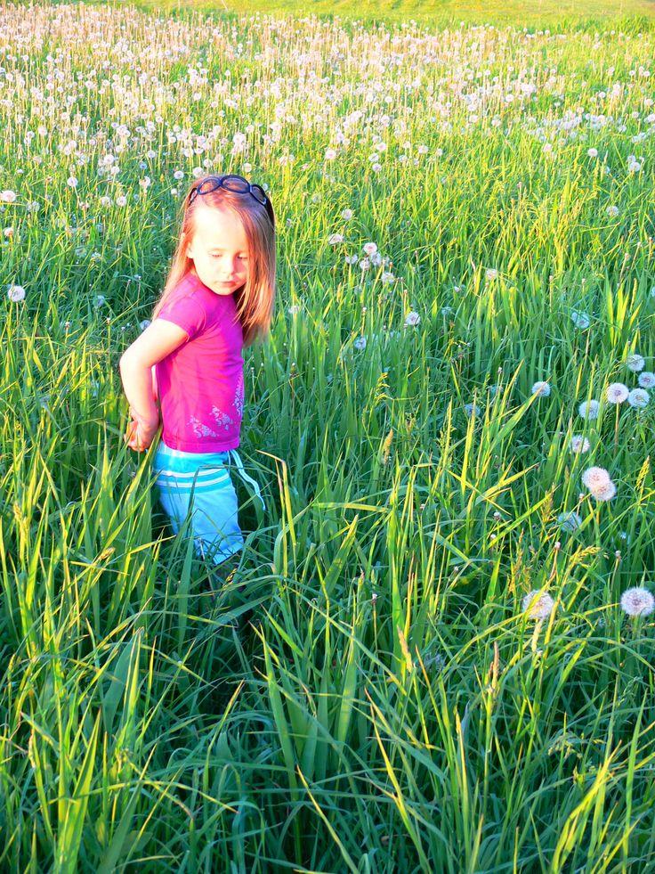Mélodie in the field