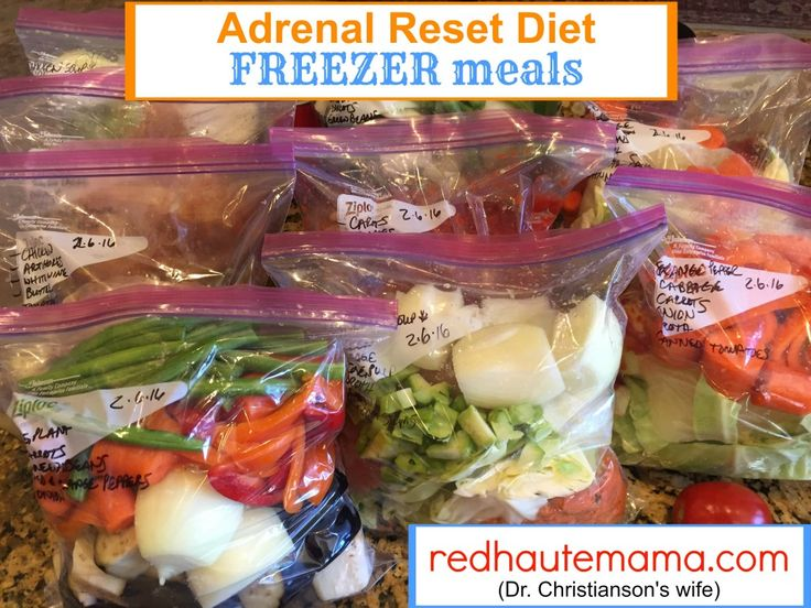 Hormone Balancing Freezer Meals – ADRENAL RESET DIET | Red Haute Mama
