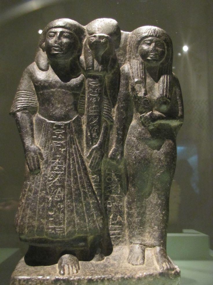 Estatuilla de Nakhtim y su esposa Meretseger (Imperio Nuevo).