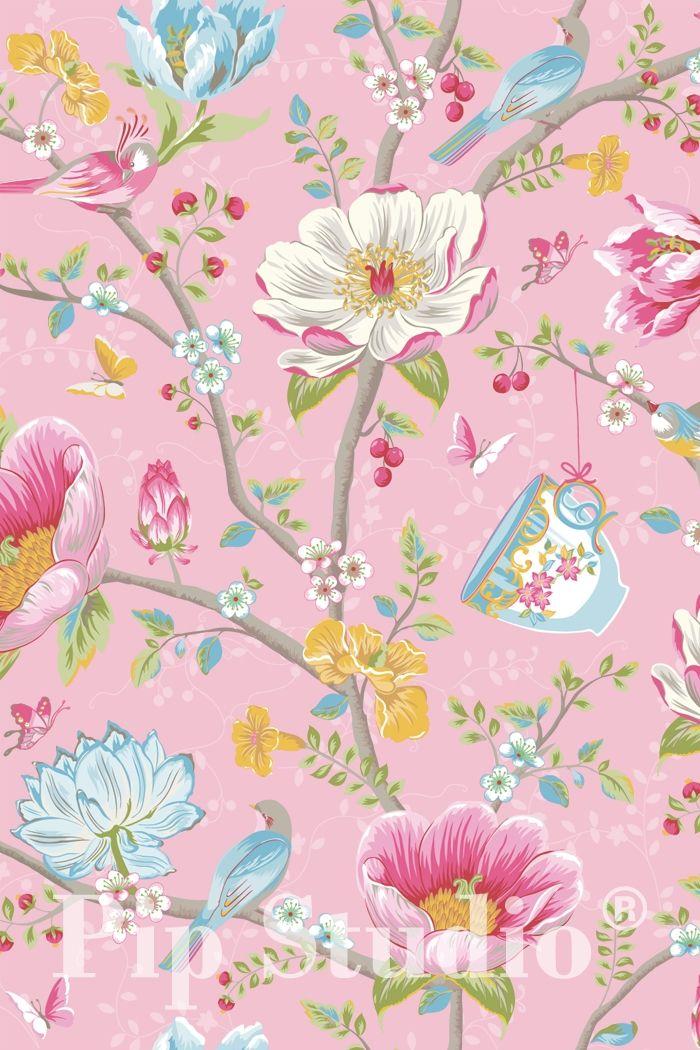 pip studio chinese garden pink - Sök på Google