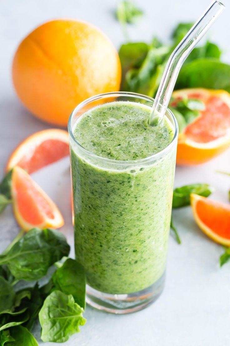Диета из зеленых смузи