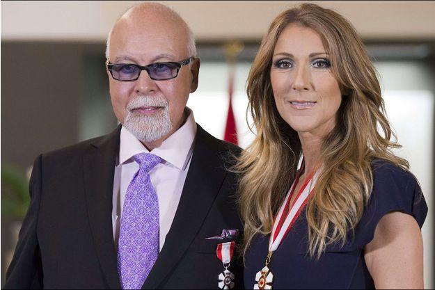 René Angélil et Céline Dion ♡