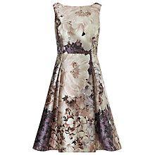 Buy Phase Eight Casey Floral Dress, Praline/Cream Online at johnlewis.com