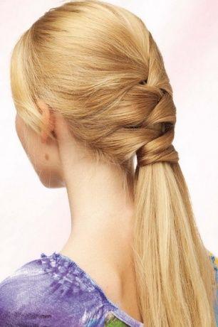 Oppitunti kutoa punos pitkät hiukset kuminauhat ja hiukset reunalla: Spit valokuvan - twist ja punokset - otsatukka - One Lady