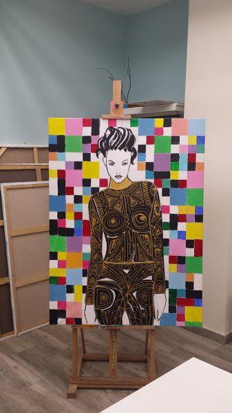 Bibivi: Obra: La mujer del futuro... todavia sin terminar....