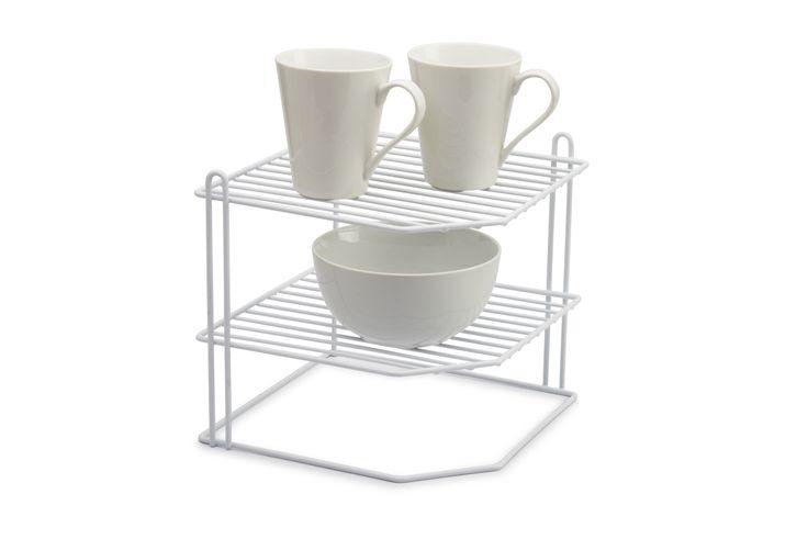 Plate holder organizer #kitchen #organizer #plateholder