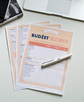 Organizer ślubny cz. I - budżet • haukotella.com