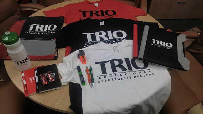 Florida A&M #TRIO gear.