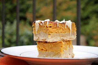 Pumpkin Pie Snickerdoodle Bar by Delishhh, via Flickr #pumpkin #thanksgiving