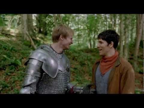 Merlin Bloopers Season 5. No spoilers.