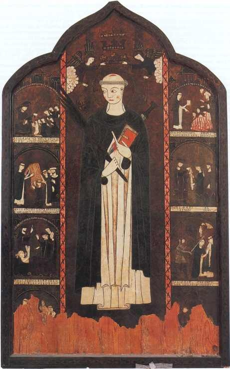 An analysis of the altarpiece of saint peter