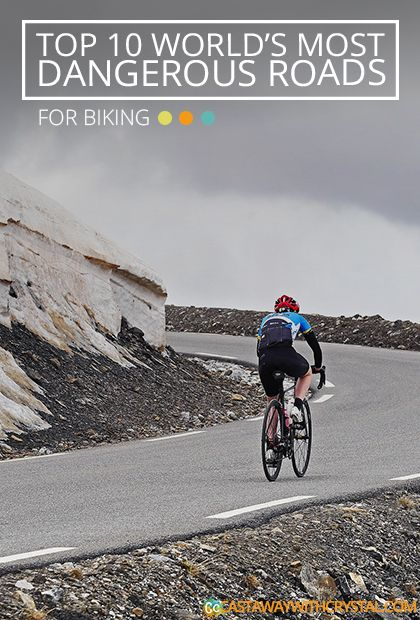 This is the TOP 10 World's Most Dangerous Biking Roads - Castaway with Crystal