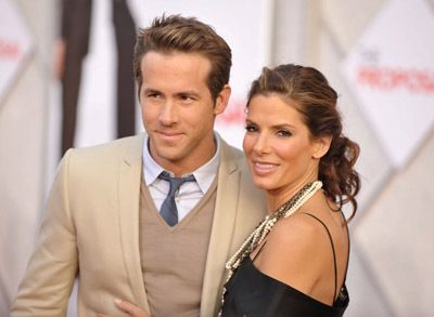 Sandra Bullock and Ryan Reynolds at an event for The Proposal (2009)