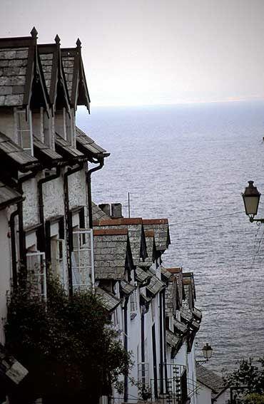 Clovelly Devon, south west England