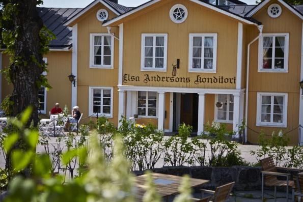 bildN – Två Fotografer i Västerås, Norberg, Elsa Anderssons café
