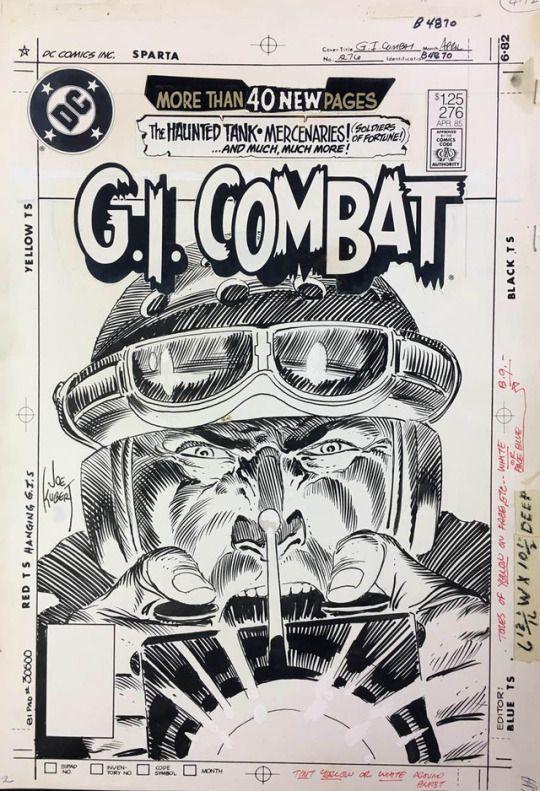Original covers by Joe Kubert