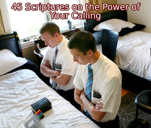 45 Scriptures on the Power of Your Calling - LayTreasuresInHeaven.com