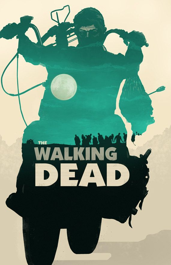 The Walking Dead Posters by Michael Rogers