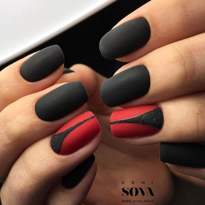 Best 25+ Matte black nails ideas on Pinterest | Matte nail ...