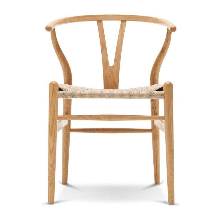 Eetkamer eetkamerstoelen notenhout beelden : 25+ beste ideeën over Wishbone stoel op Pinterest - Dineren, Hans ...